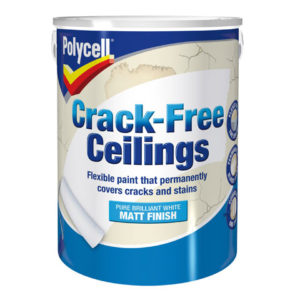Crack-Free Ceilings Smooth Matt 5 Litre