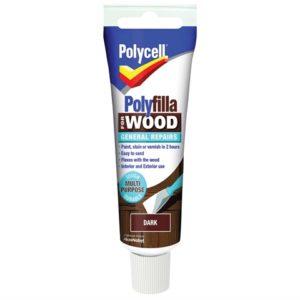 Polyfilla For Wood General Repairs Tube Dark 330g
