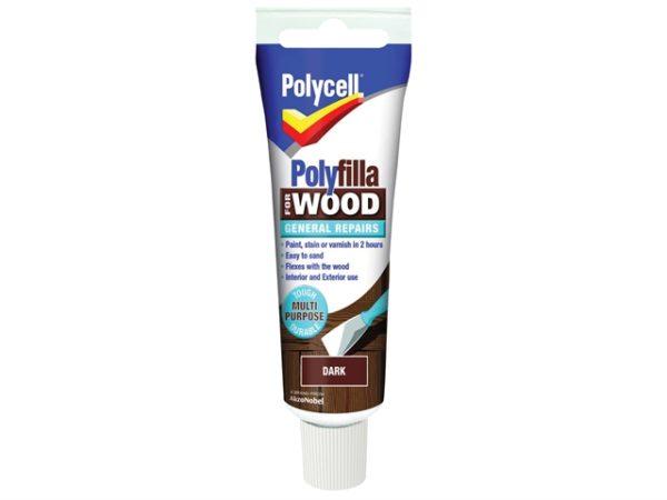 Polyfilla For Wood General Repairs Tube Dark 75g