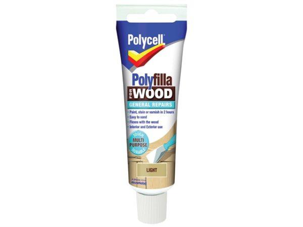 Polyfilla For Wood General Repairs Tube Light 330g