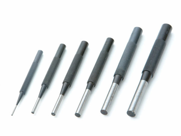 135-S6 Parrallel Pin Punches in Wallet Set 6 Piece