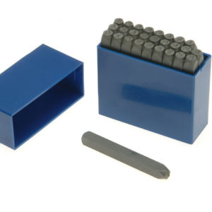 181- 2.5mm Set of Letter Punches 3/32in