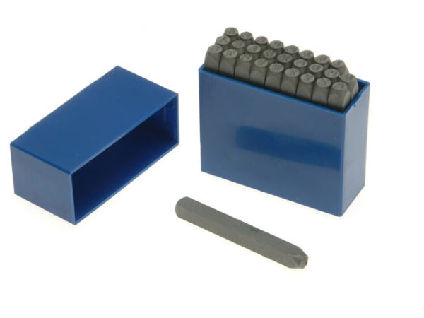 181- 4.0mm Set of Letter Punches 5/32in