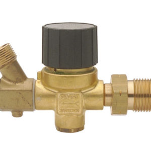 1-4 bar POL Regulator 5-12kg with Hose Failure Valve