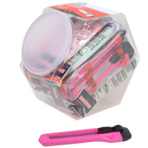 Plastic Neon Snap-Off Knife 18mm