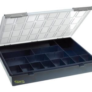 A4 Profi Service Case Assorter 15 Fixed Compartments
