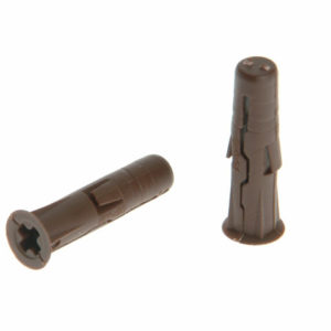 Brown UNO® Plugs 7 x 30mm (Pack 1000)