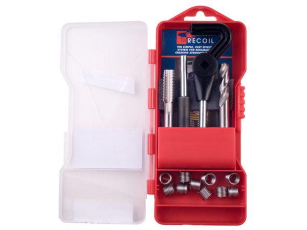 Metric Thread Repair Kit Coarse M8.0 - 1.25 Pitch 15 Inserts