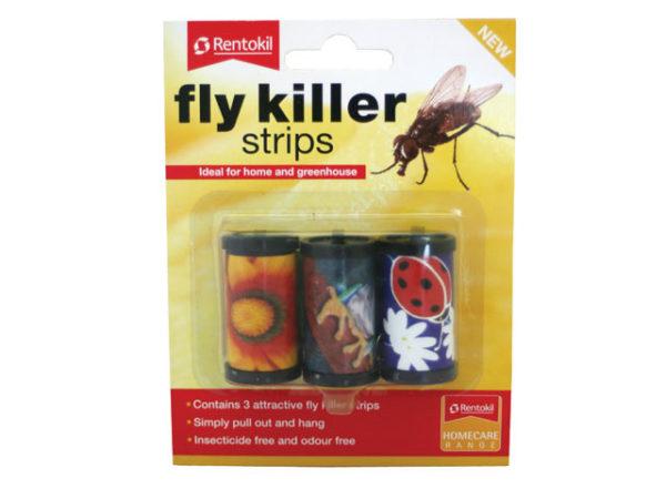 Fly Killer Strips Pack of 3