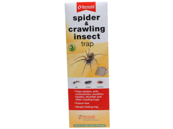 Spider & Crawling Insect Trap