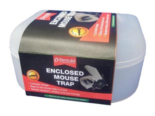 Enclosed Mouse Trap