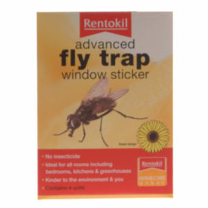 Advanced Window Fly Traps Pack of 4