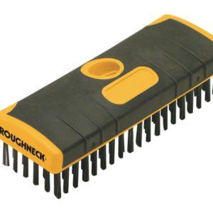 Heavy-Duty Scrub Brush Soft-Grip 200mm (8in) NO Handle