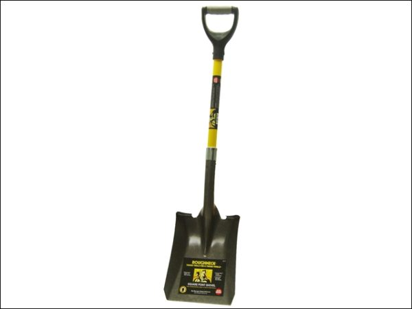 Square Shovel 36in D Handle