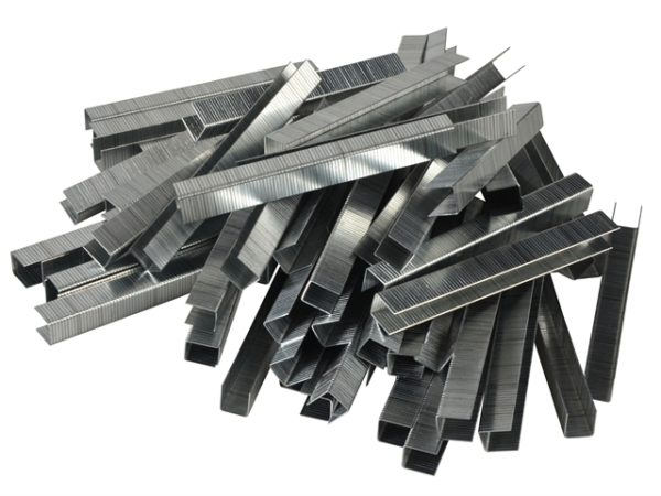 140/12 12mm Galvanised Staples Poly Pack 5000