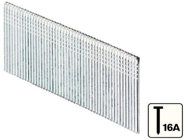 16A 20° Stainless Steel Brad Nails 64mm Box of 2000