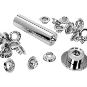 Eyelets 6mm Pack of 25 + Assembly Tools