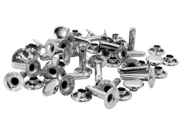 Tubular Rivets 9 x 3 x 13mm Cap 3 x 10mm (Pack of 25)