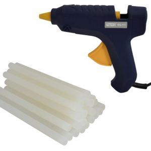 EG111 Multi Purpose Glue Gun & 500g 12mm Glue Sticks 250 Watt 240 Volt