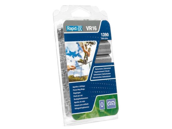 VR16 Fence Hog Rings Pack 1390 Green