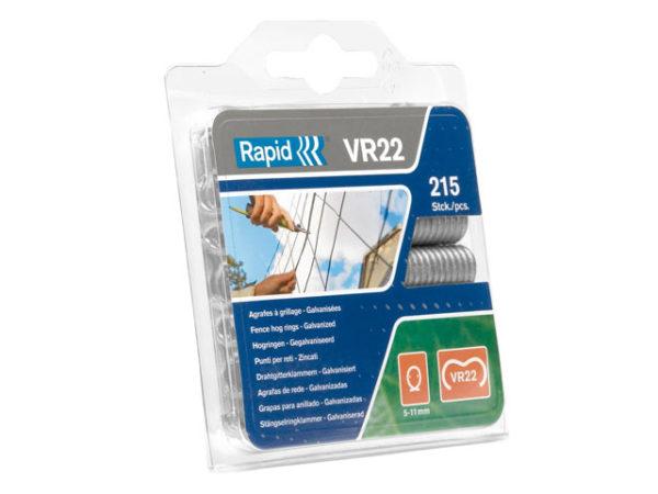 VR22 Fence Hog Rings Pack 215 Galvanised