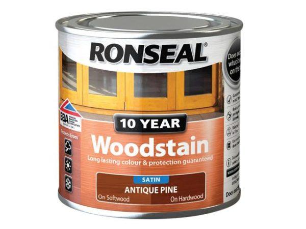 10 Year Woodstain Antique Pine 250ml