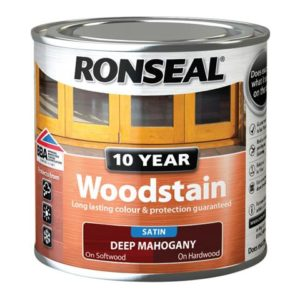 10 Year Woodstain Deep Mahogany 250ml