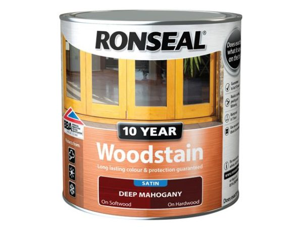 10 Year Woodstain Deep Mahogany 750ml