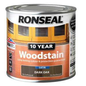 10 Year Woodstain Dark Oak 250ml