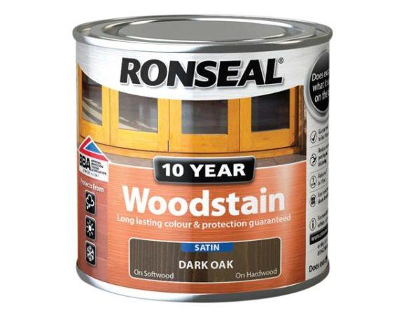 10 Year Woodstain Dark Oak 250ml