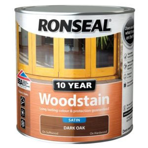 10 Year Woodstain Dark Oak 2.5 litre
