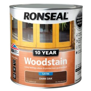 10 Year Woodstain Dark Oak 750ml