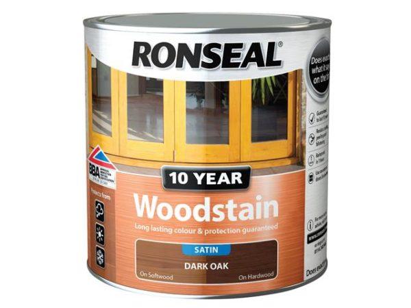 10 Year Woodstain Dark Oak 750ml