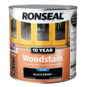 10 Year Woodstain Ebony 750ml