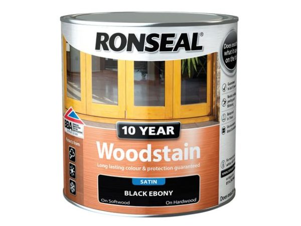 10 Year Woodstain Ebony 750ml