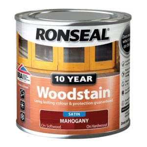 10 Year Woodstain Mahogany 250ml