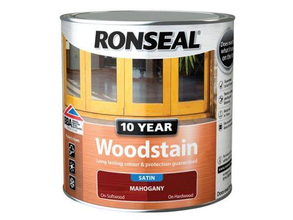 10 Year Woodstain Mahogany 2.5 litre