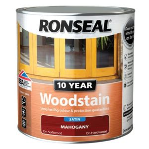 10 Year Woodstain Mahogany 750ml