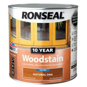 10 Year Woodstain Natural Oak 750ml