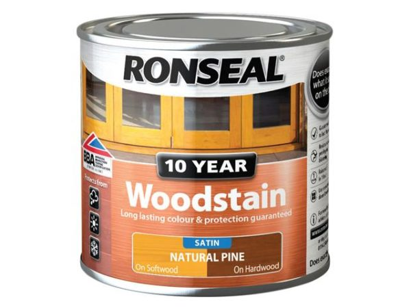 10 Year Woodstain Natural Pine 250ml