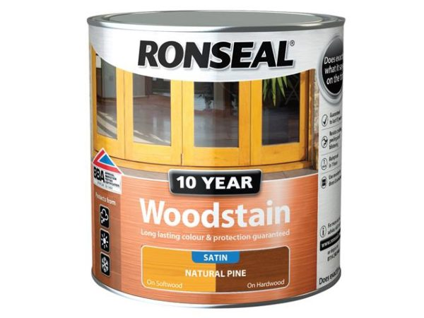 10 Year Woodstain Natural Pine 2.5 litre