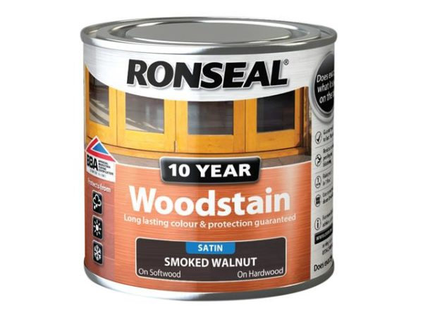 10 Year Woodstain Smoked Walnut 250ml