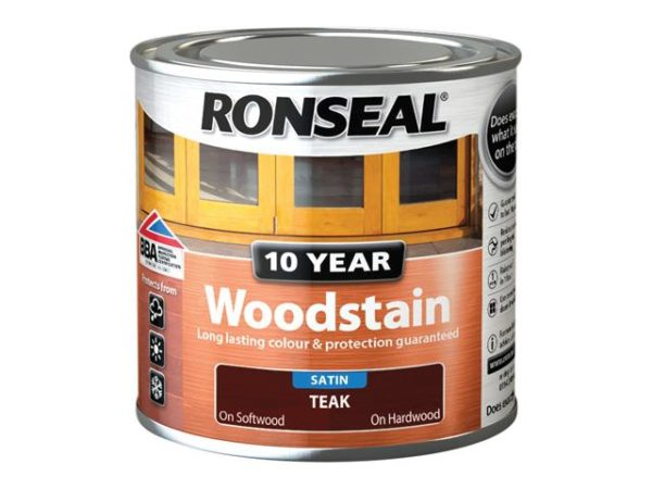10 Year Woodstain Teak 250ml