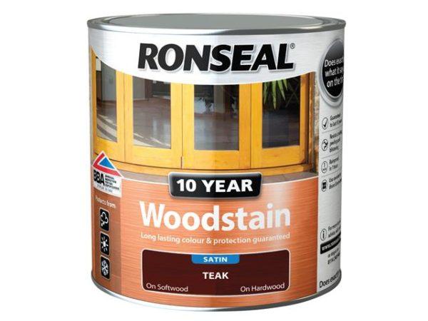 10 Year Woodstain Teak 750ml