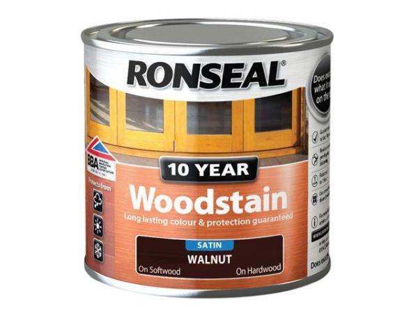 10 Year Woodstain Walnut 250ml