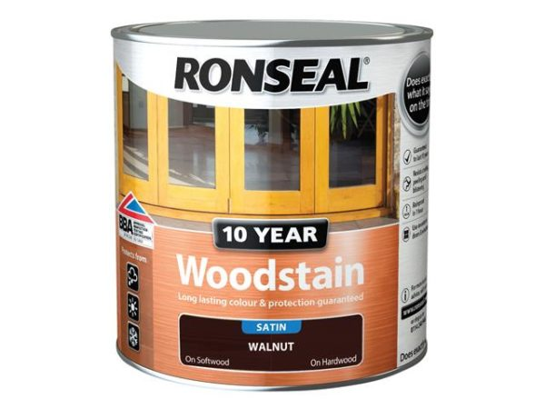 10 Year Woodstain Walnut 2.5 litre