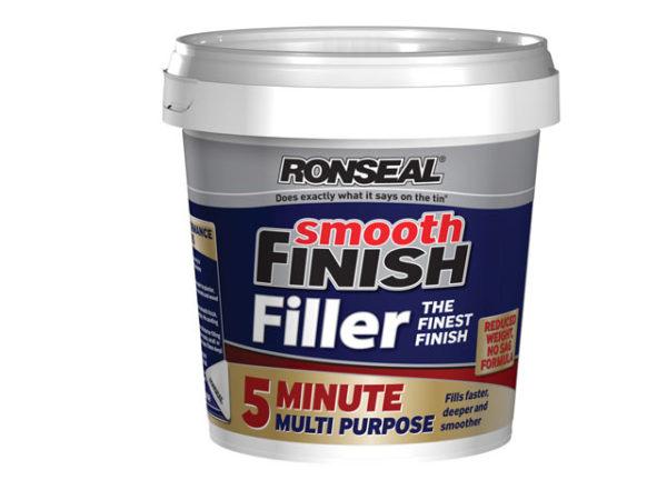 Smooth Finish 5 Minute Multi Purpose Filler Tub 600ml