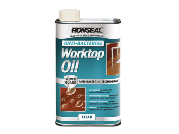 Anti-Bacterial Worktop Oil 500ml