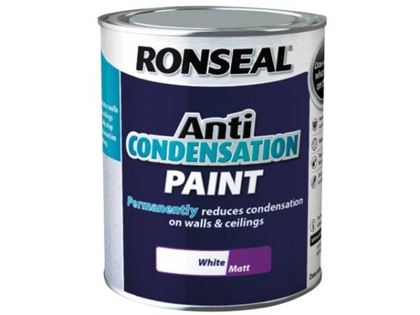 Anti Condensation Paint White Matt 2.5 litre