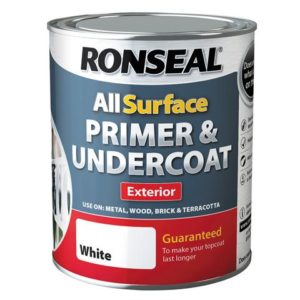 All Surface Primer & Undercoat Exterior White 750ml